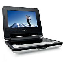 PET731/12 -    Leitor de DVD portátil