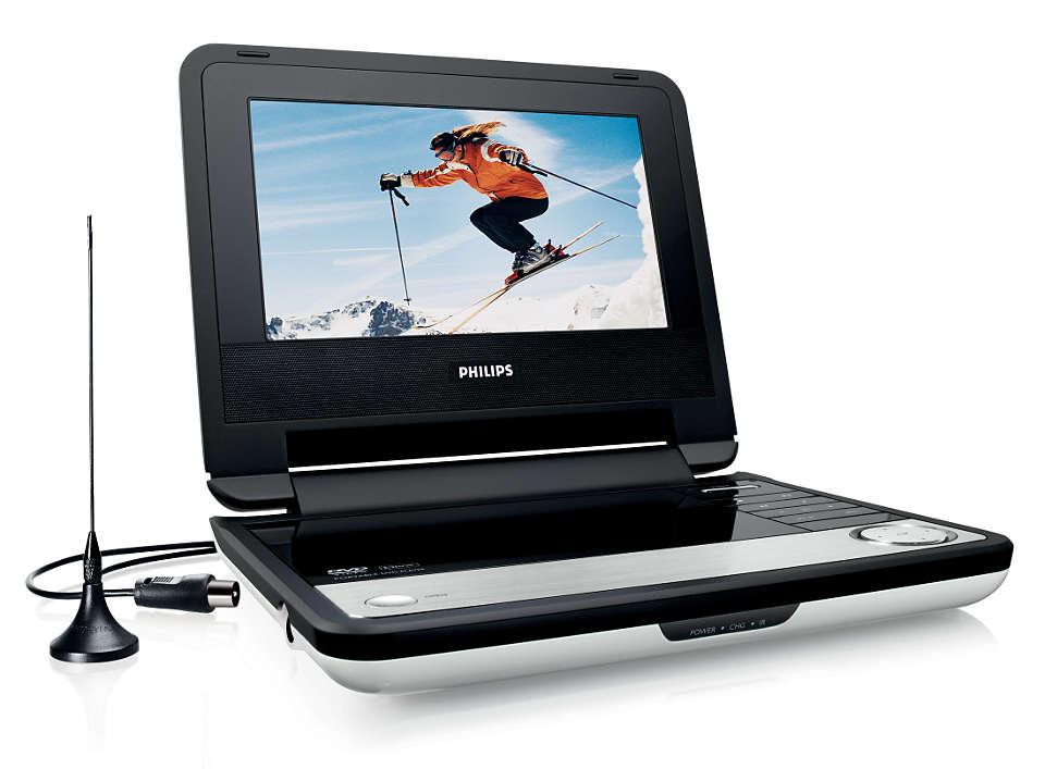 Filmes de DVD e DivX® em movimento