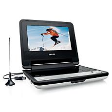 PET735/00  DVD player portabil