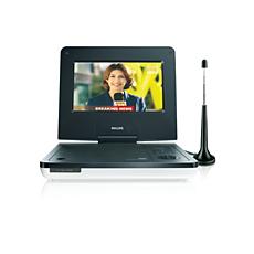 PET737/58  DVD player portabil