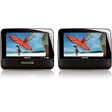 PET7402D/05 -    Portable DVD Player