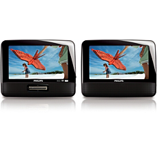 PET7402D/12 -    Tragbarer DVD-Player