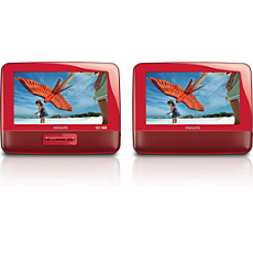 PET7402S/37 -    Portable DVD Player
