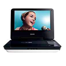 PET740/05  Portable DVD Player