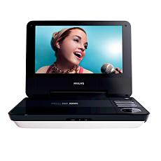PET740/12  DVD player portabil