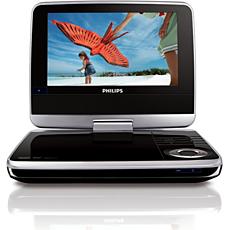 PET742/12  DVD player portabil
