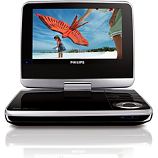 PET742/58  DVD player portabil