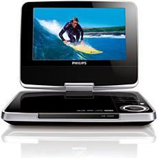 PET744/05 -    Portable DVD Player