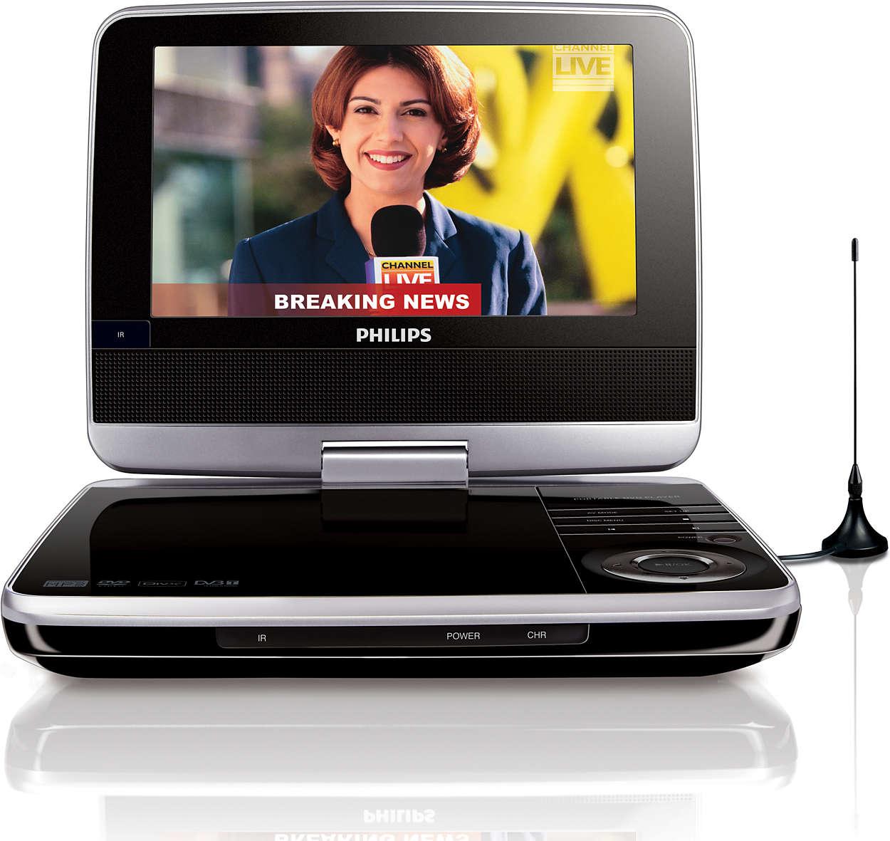 Sledujte oblíbené TV programy a DVD kdekoli