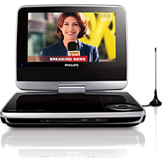 PET745/12  Portable DVD Player