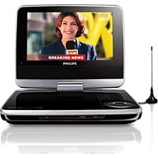 PET745/12  DVD player portabil
