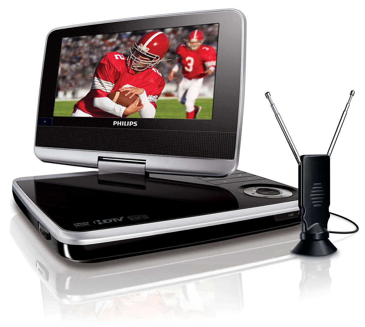 Portable Dvd Player Pet74937 Philips