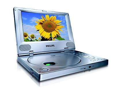 Savuraţi filme pe DVD, în timpul deplasărilor