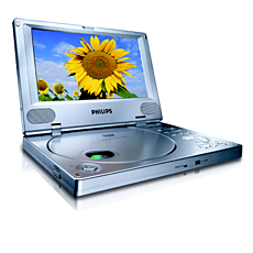 PET800/05  Portable DVD Player