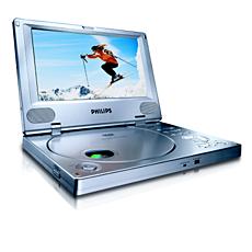 PET810/00 -    Leitor de DVD portátil