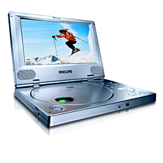 PET810/05  Portable DVD Player