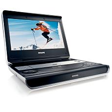 PET825/00  DVD player portabil