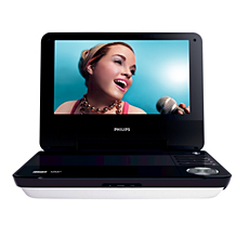 PET940/05  Portable DVD Player