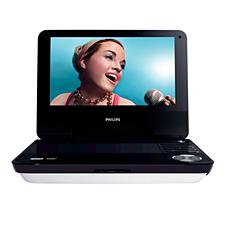 PET940/12  DVD player portabil