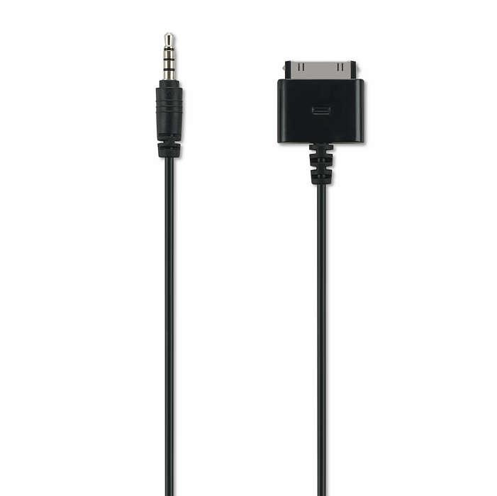 Câble audio/vidéo pour iPhone/iPod/iPad