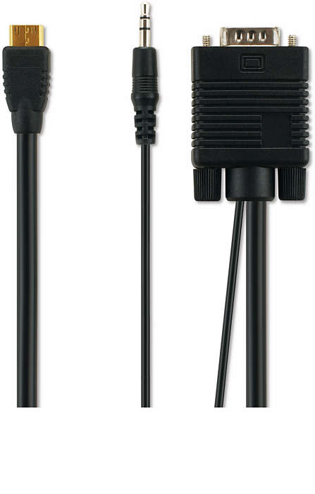 VGA-Kabel für PC-Anschluss