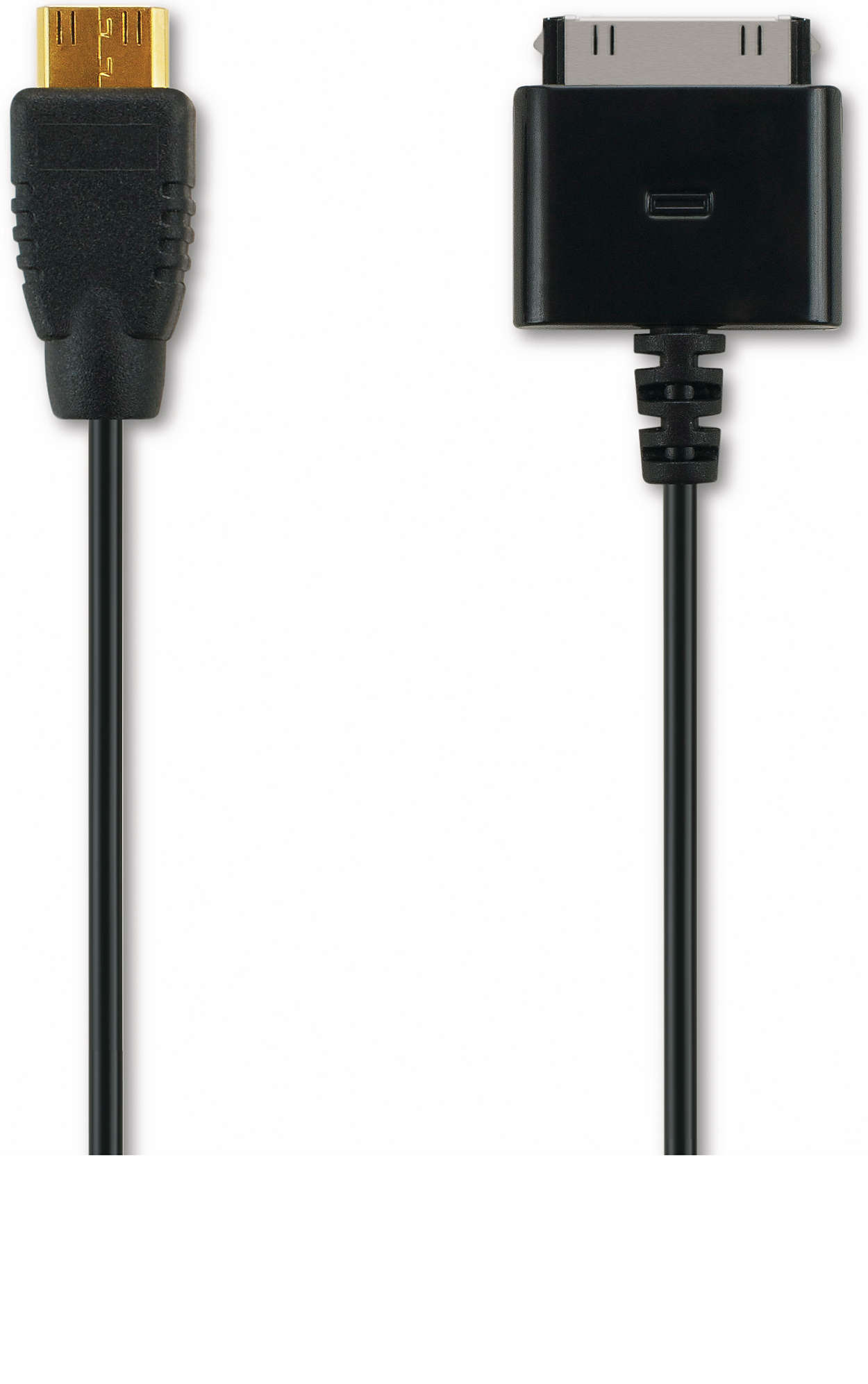 Audio/video cable for iPhone/iPod/iPad