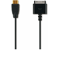 PPA1280/000 -   PicoPix Audio/video cable for iPhone/iPod/iPad