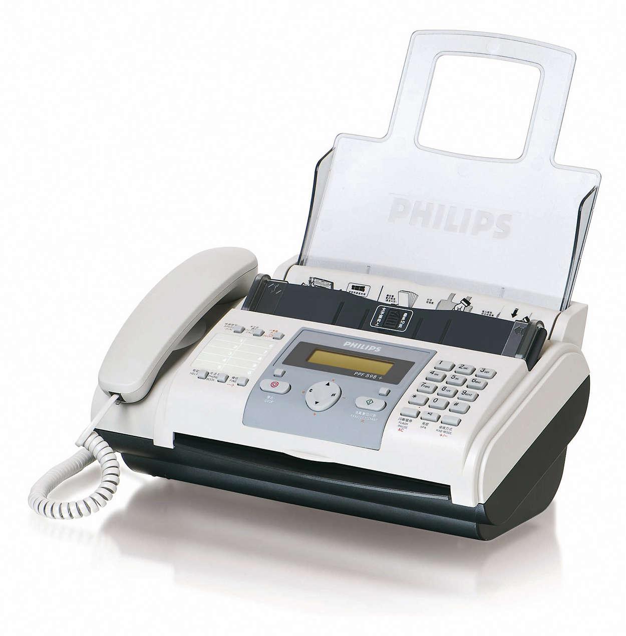 飞利浦热转印传真机
