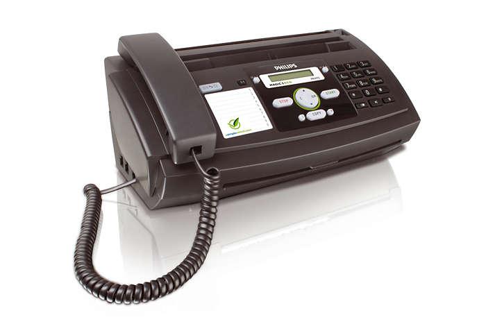 Envíalo por fax, dilo