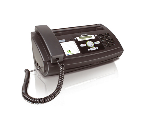 fax with telephone and copier ppf631e gbb philips