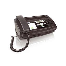 Fax met telefoon en kopieerapparaat