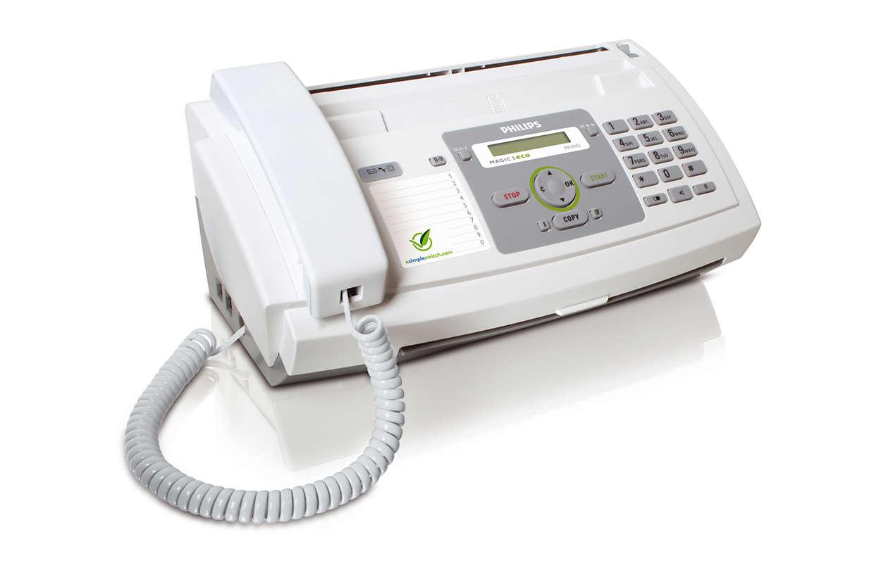 Säg det med ett fax