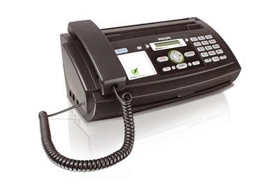telephone with fax machine