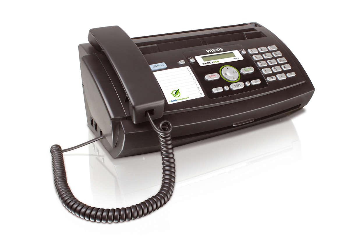 fax avec t l phone et r pondeur ppf675e frb philips. Black Bedroom Furniture Sets. Home Design Ideas