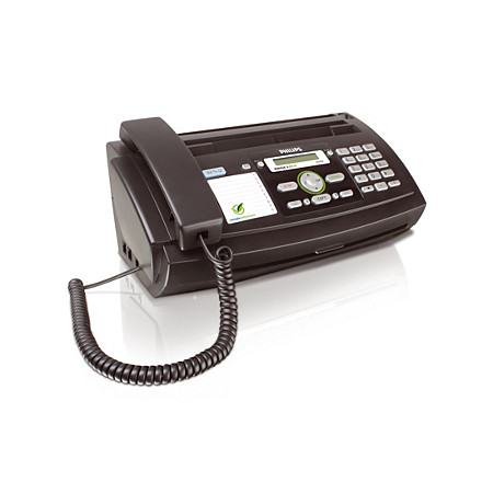 Thermal transfer faxes
