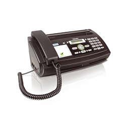 Fax c/ telefone e atendedor de chamadas