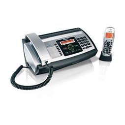 Fax s odkazovačom a DECT