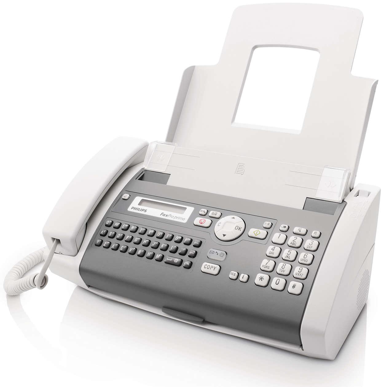 Envío de fax fiable