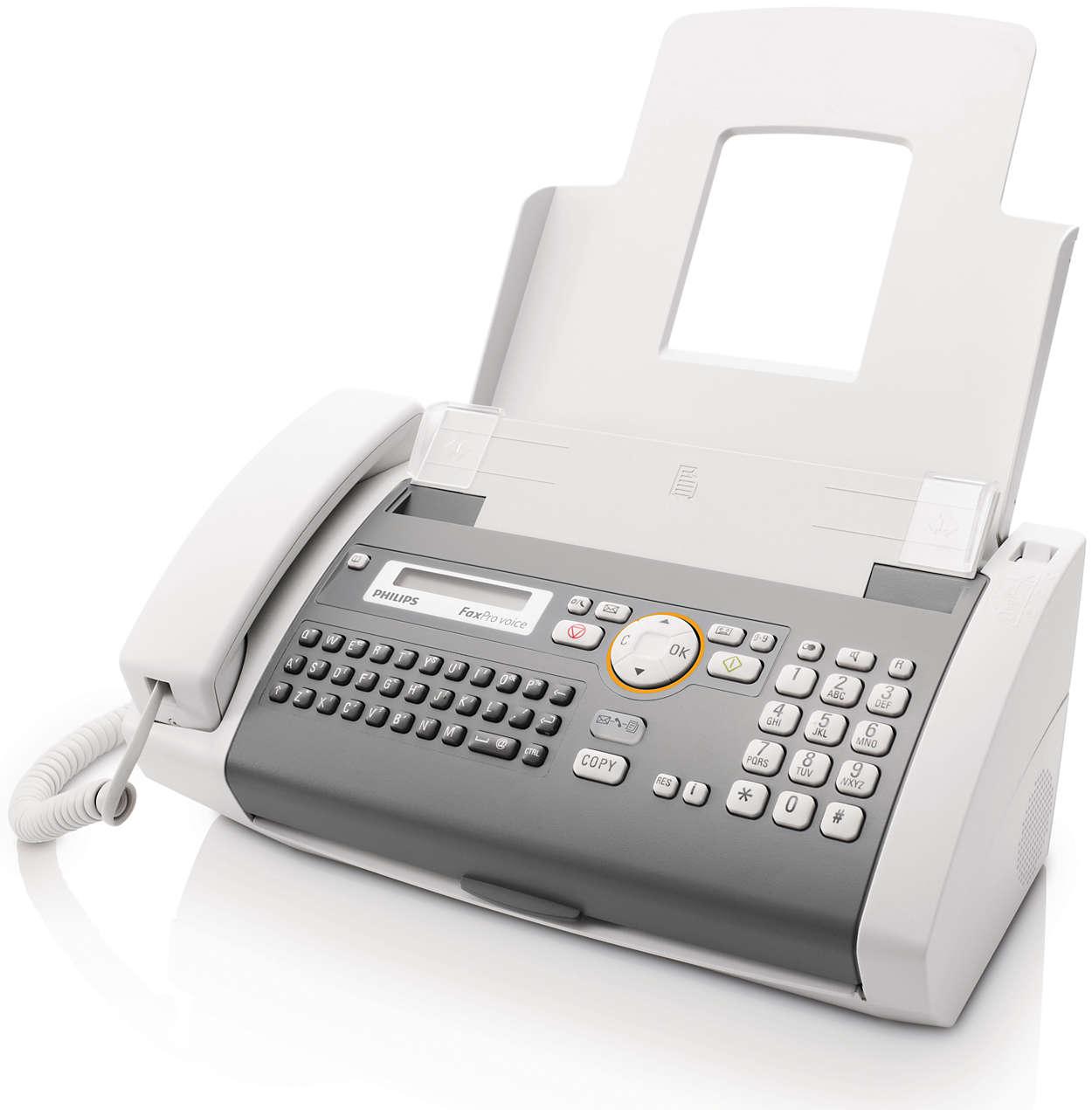 Envios de fax fiáveis