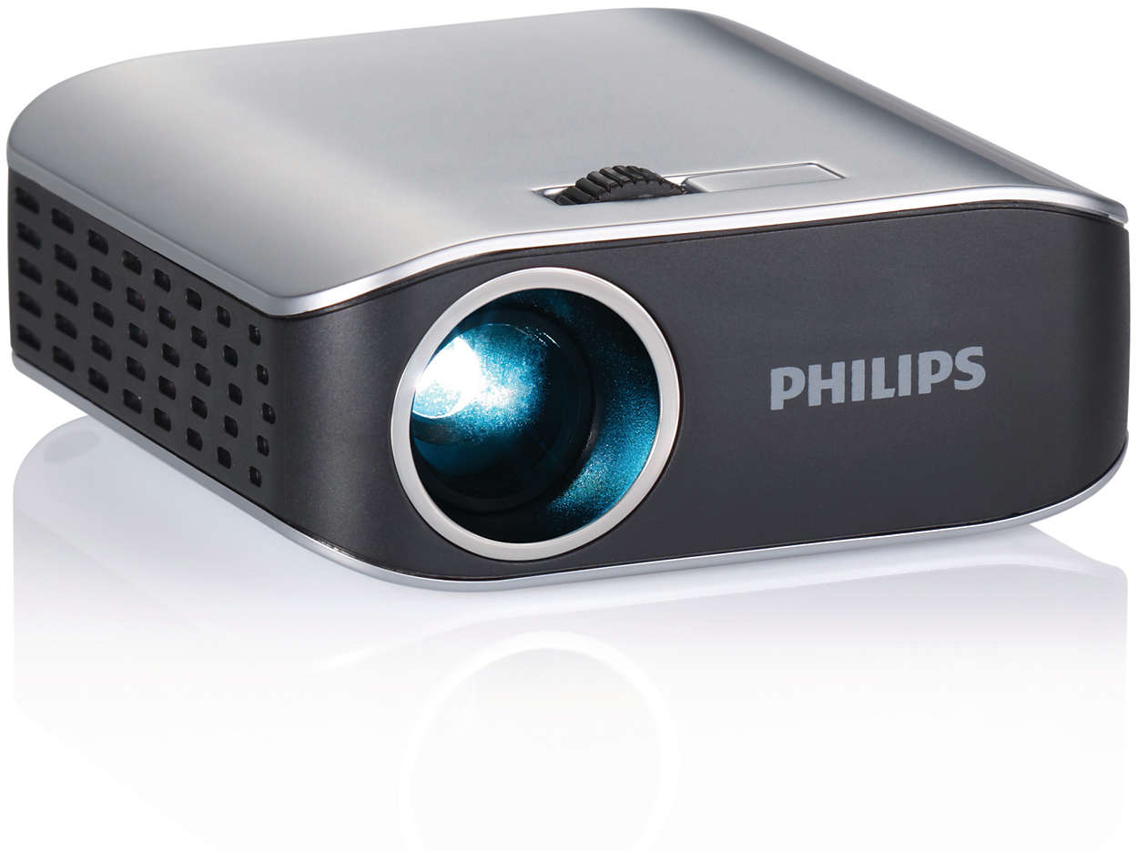 Picopix pocket projector ppx2055 f7 philips for A small projector