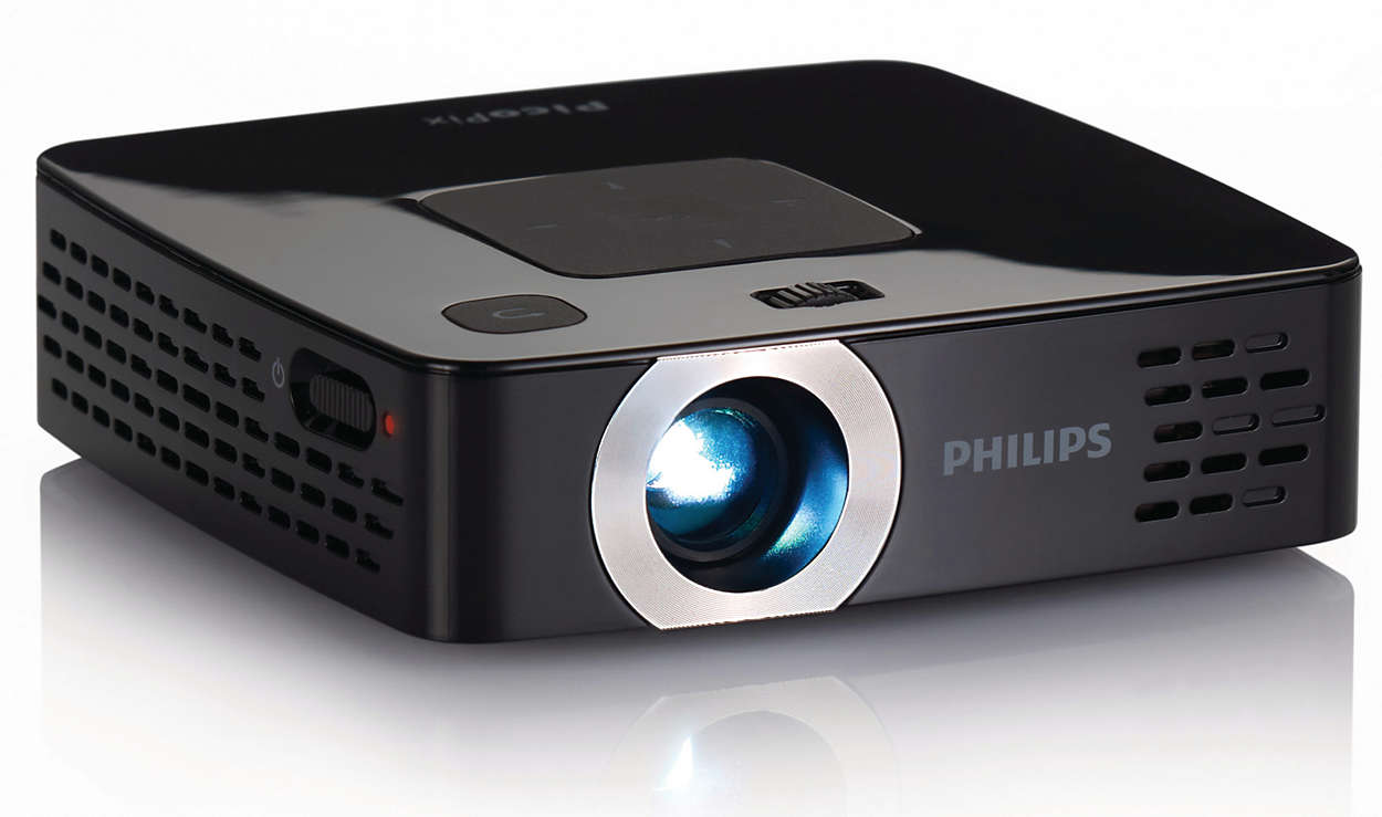 Picopix pocket projector ppx2480 eu philips for A small projector