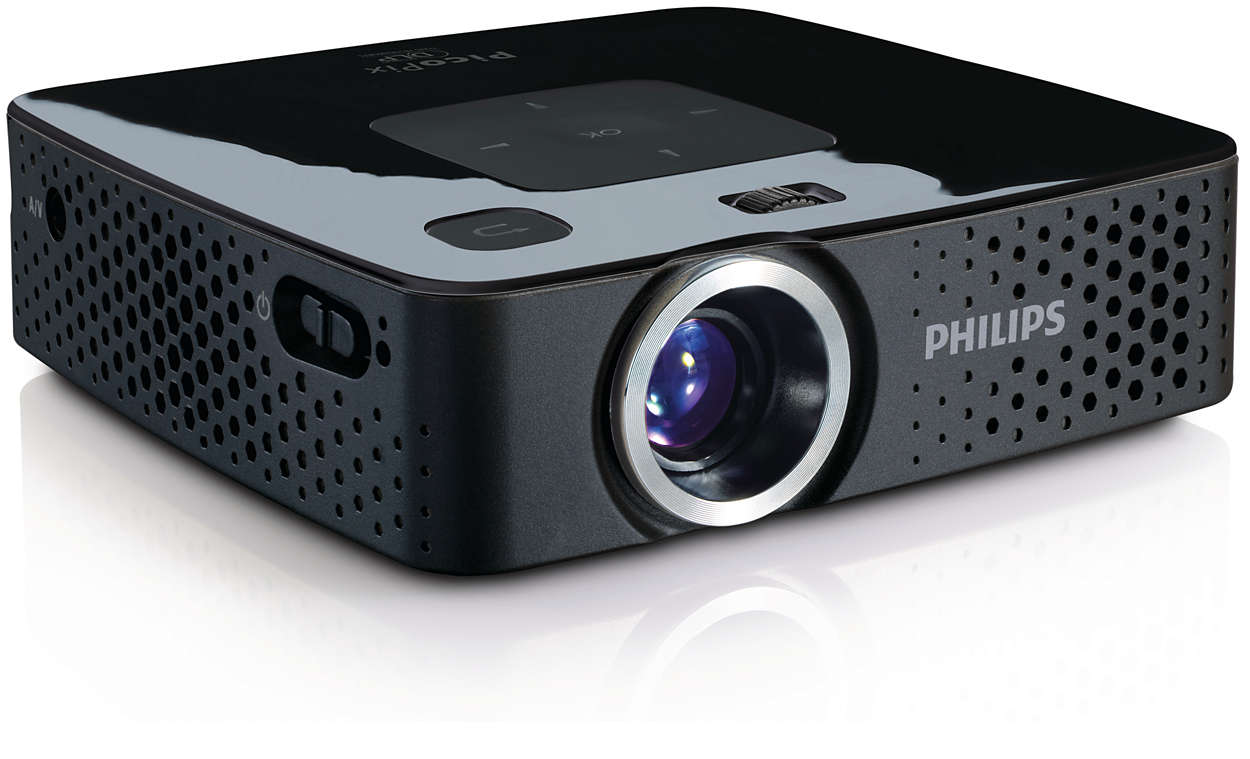 Picopix pocket projector ppx3407 eu philips for A small projector