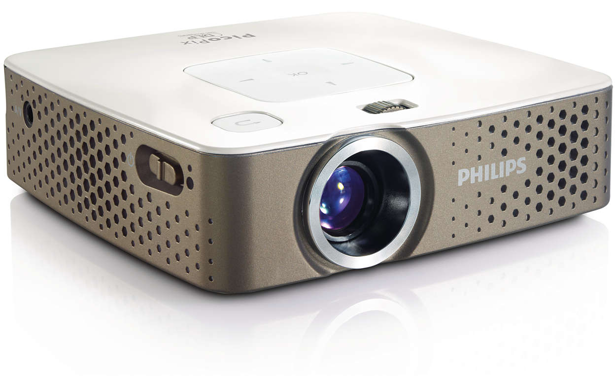 Picopix pocket projector ppx3410 eu philips for Small projector