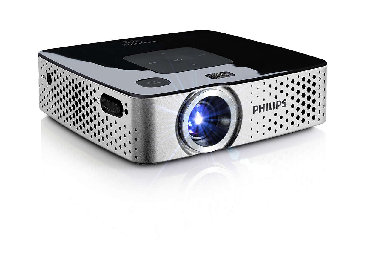 Picopix pocket projector ppx3514 eu philips for Pocket projector video