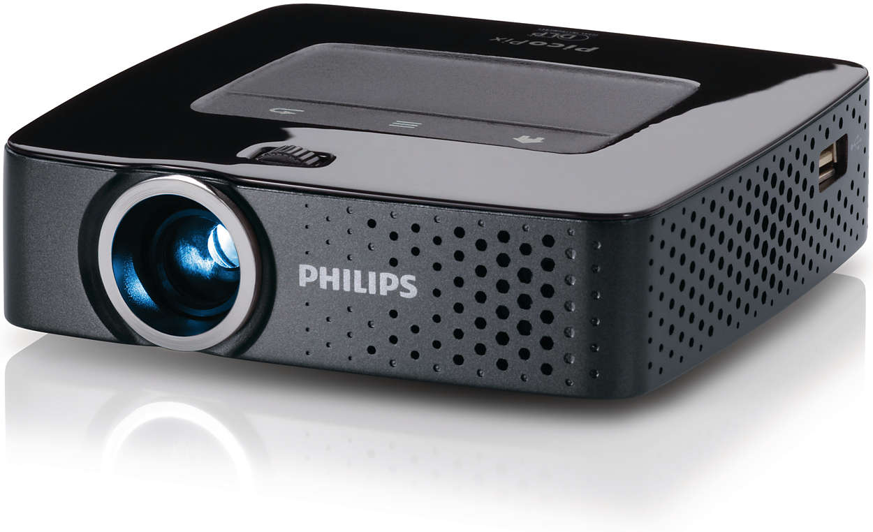 Picopix pocket projector ppx3610 eu philips for Pocket projector video