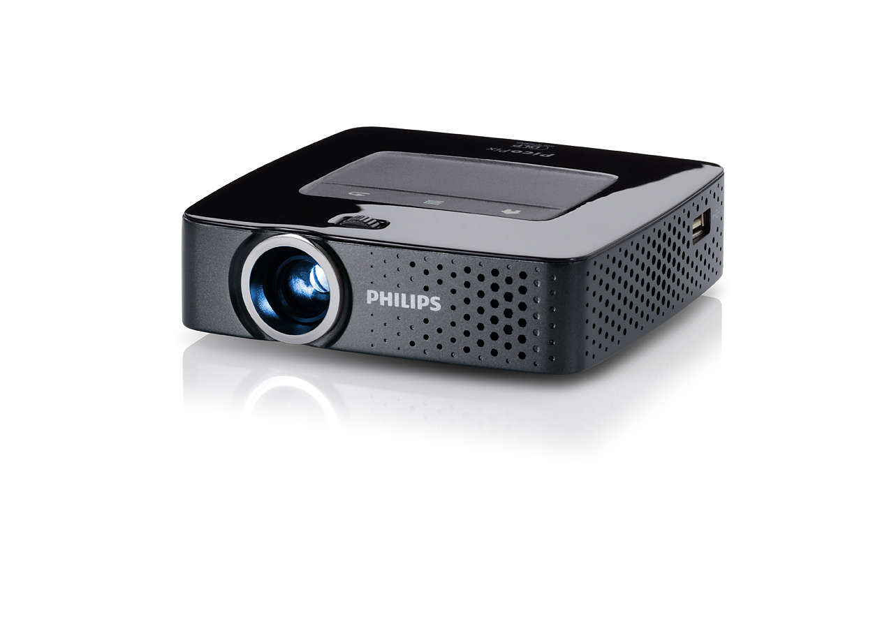 Picopix pocket projector ppx3614 f7 philips for A small projector