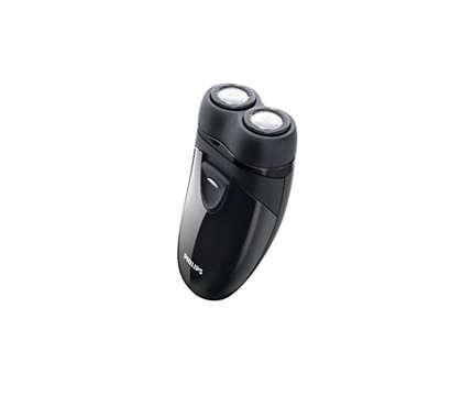 旅行や出張、携帯に便利なコンパクトシェーバー。
