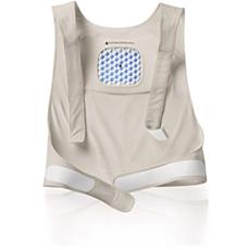 PR3081/00 BlueTouch Pain Relief Patch Strap - S/M upper back