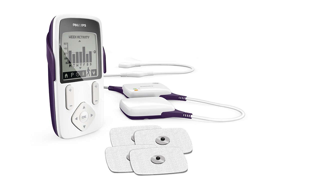 TENS wireless testato per il sollievo dal dolore*
