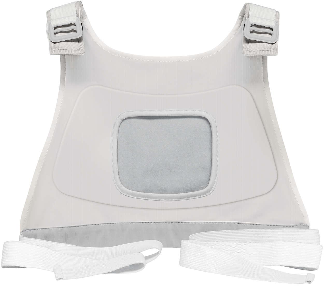 BlueTouch-strop til den øverste del af ryggen